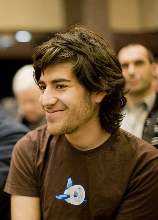 Aaron Swartz from https://commons.wikimedia.org/wiki/File:Aaron_Swartz_profile.jpg